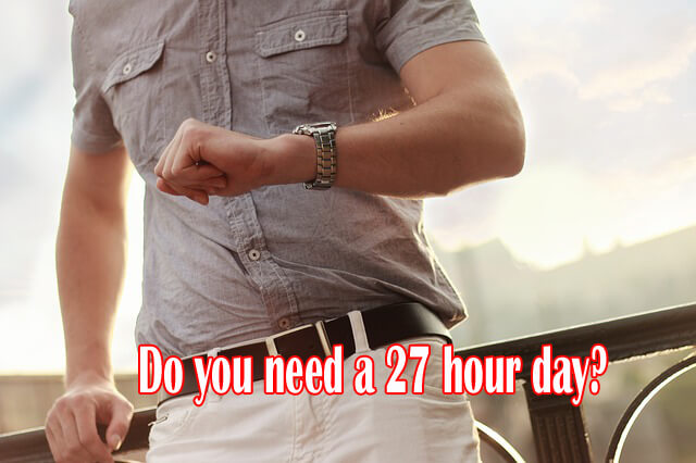 27 hour day