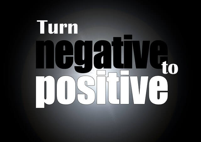 turn negative to positive