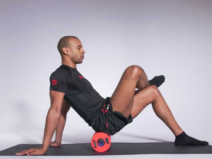 Pulseroll glute exercise