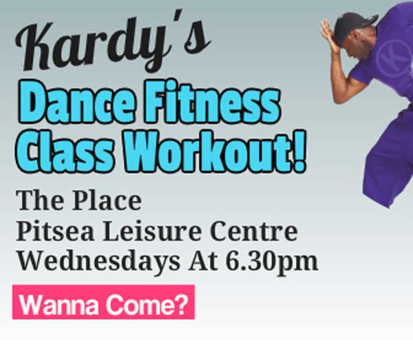 Dance fitness class Pitsea